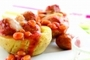 Meatball and Baked Bean Boats