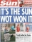 Newspapers political influence media politics front pages headlines  The Sun